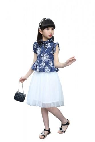 Cotton Bubble Skirt